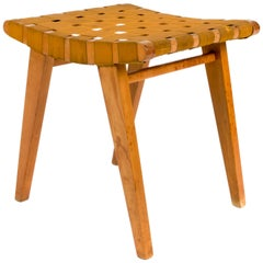 Early Jens Risom Stool for Hans G.Knoll