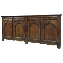 Long 19th Century Country French Cherry Enfilade from France