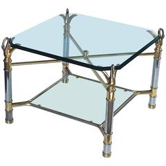 French Swan's Neck Low Table