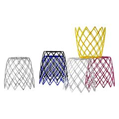 Modern Kaktus Stool for Indoor and Outdoor Use by Enrico Bressan