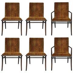 T.H. Robsjohn-Gibbings Dining Chairs, Set of Six