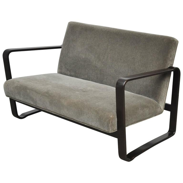 "Rare Dunbar ""Modern Morris Settee"" by Edward Wormley"