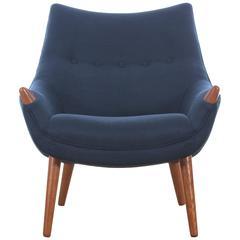 "Mid-Century Modern Scandinavian Armchair ""Mama Bear"""