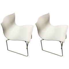 Pair of Knoll Handkerchief Chairs