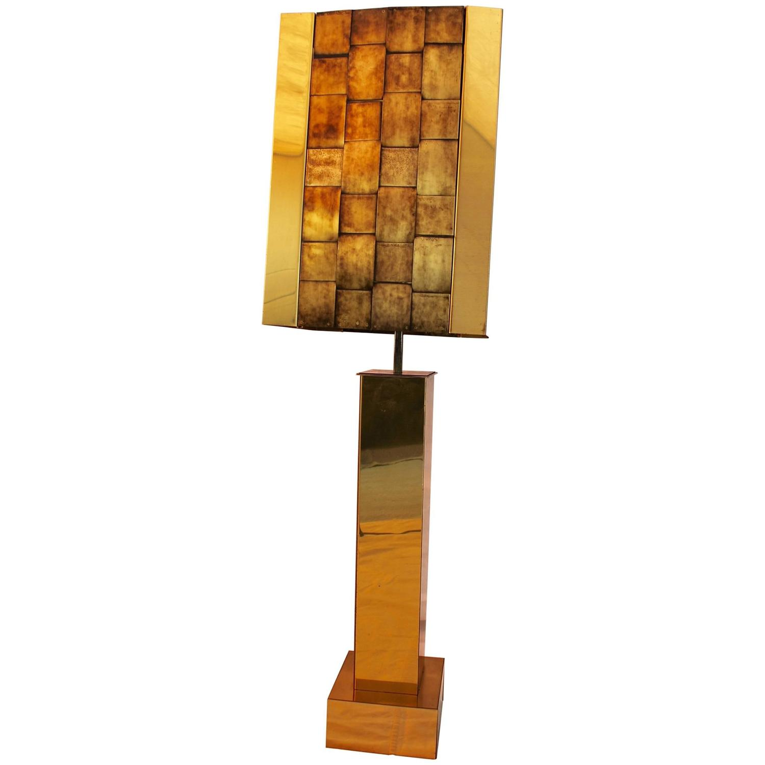 Beautiful and Rare Table Lamp by Curtis Jere For Sale at ...