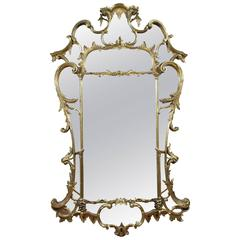 Large George III Giltwood Mirror