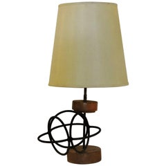 Modernist Abstract Sculpture Lamp