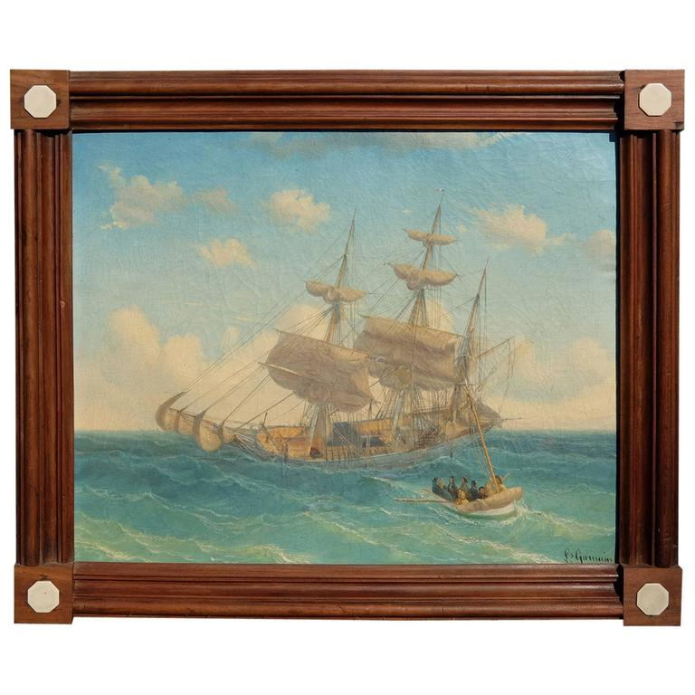 Louis Gamain Painting For Sale