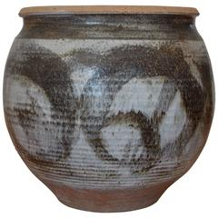 Large Studio Art Pottery Planter