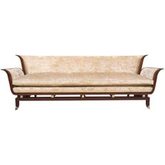 James Mont Style Sculptural Sofa
