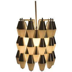 Magnificent and Very Rare Ludiek Ceiling Lamp by RAAK Amsterdam