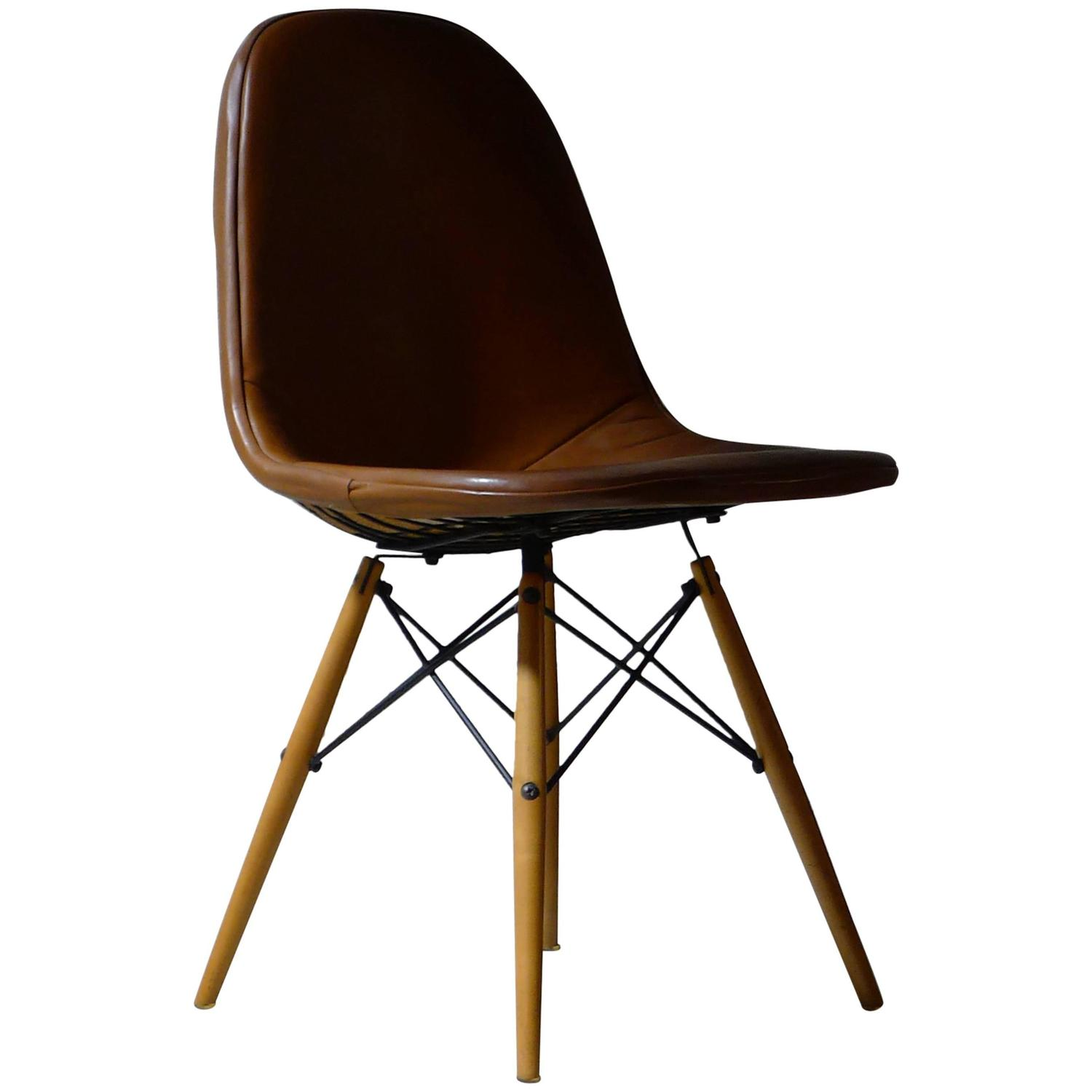 Eames wooden dowel chair home design for Eames dowel leg side chair