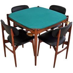 Gio Ponti 1960s Poker Table