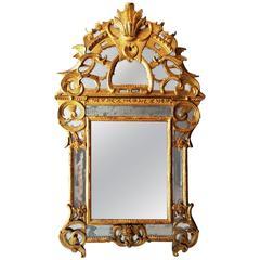 Important Royal German Rococo Mirror Circa 1745 1755 For