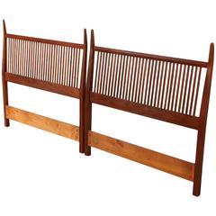 Pair of Twin Calvin Furniture Headboards