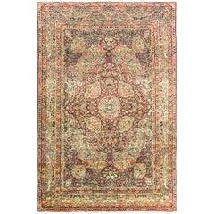 "Antique Persian Kermanshah Carpet, 6'10"" x 10'2"""
