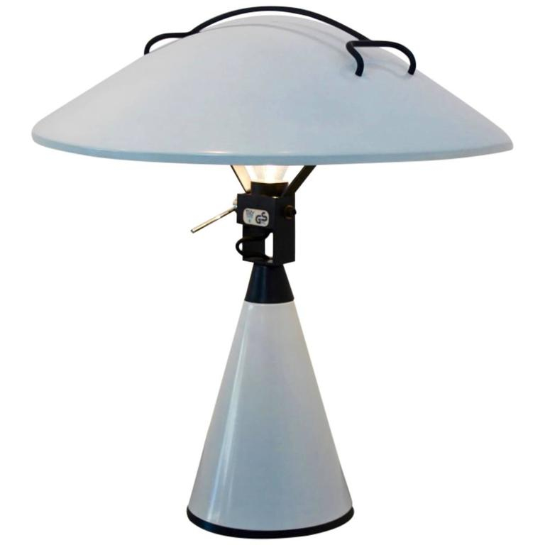 Elio Martinelli 'Radar' Table Lamp for Martinelli Luce, Italy, 1976