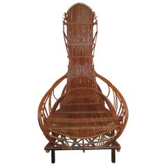 Clifton Monteith Twisted Willow Armchair