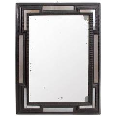 19th Century Black Dutch Mirror