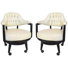 Pair of Monteverdi-Young Swivel Chairs
