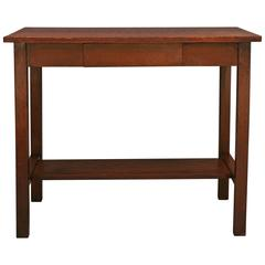 1910 Arts & Crafts Table/ Desk with Drawer