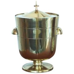 Tommi Parzinger Brass Ice Bucket