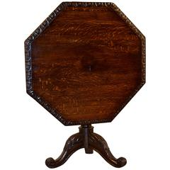 19th Century English Tilt-Top Table