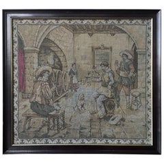 Very Fine Late 17th Century Allegorical Flemish Renaissance Baroque Tapestry