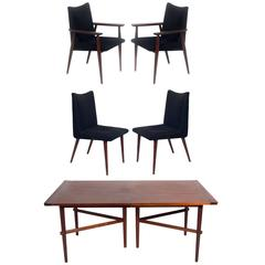 Dining Table and Chairs by George Nakashima for Widdicomb