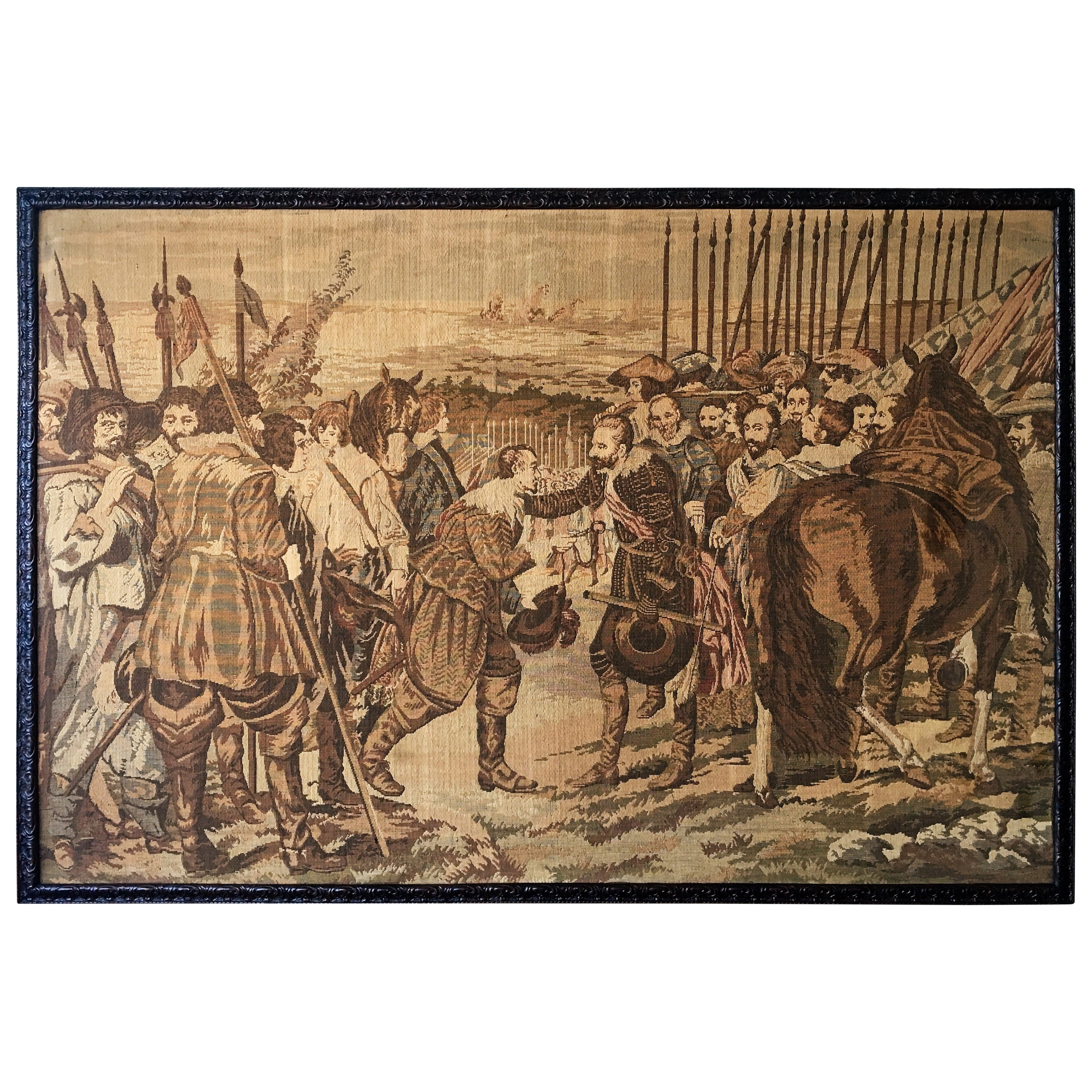 Large French 19th Century Tapestry