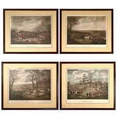 English Fox Hunting Prints of the Essex Hunt