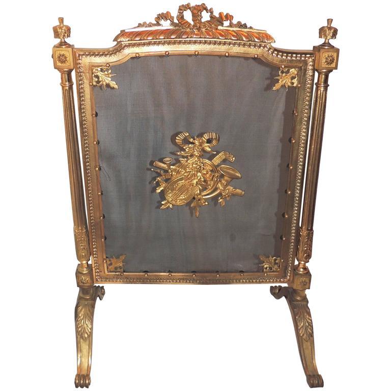 Wonderful French Dor Bronze Musical Ormolu Mounted