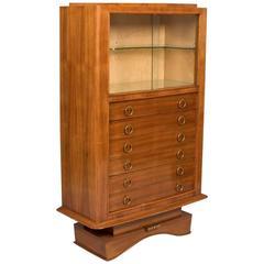 Bouillaguet French Art Deco Cabinet