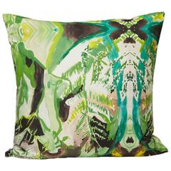 Square Fern Pillow
