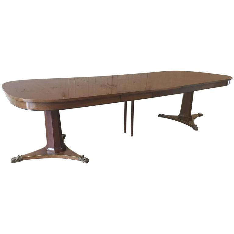 large dining room table by baker for sale at 1stdibs dining room table for sale by owner 187 home design 2017