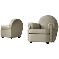 Pair of Valabrega Lounge Chairs