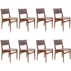 Set of 6 Frem Rojle Dining Chairs with New Upholstery