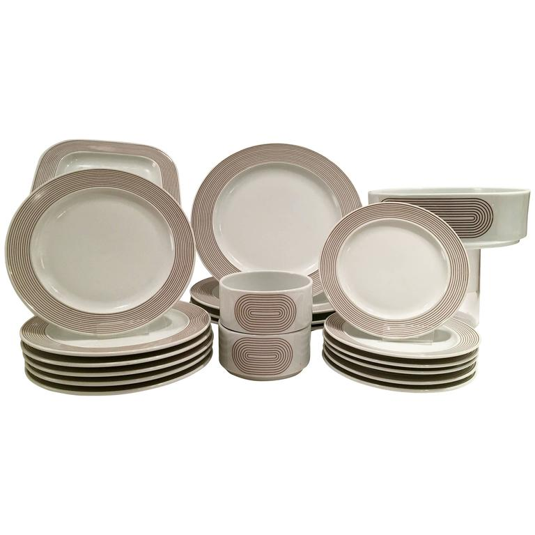 70u0027S Modern Rosenthal Germany  Joy One  Dinnerware Set Of 20 ...  sc 1 st  1stDibs & 70u0027S Modern Rosenthal Germany