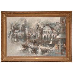 Original Oil by Edward Barton