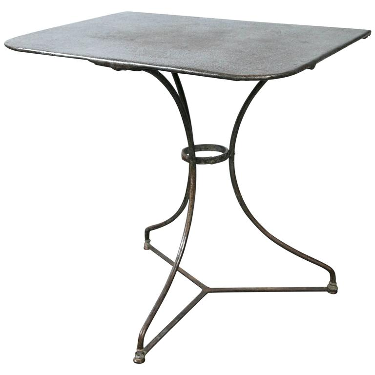 Bistro Table, circa 1920, France