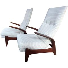 1960 Set of Gimson and Slater - Rock and Rest - Armchairs lounge chair