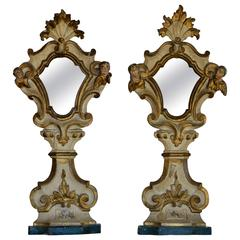 Pair of Early 18th Century Northern Italian Church Mirrors