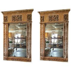 Repurposed Mirrors from 17th Century Portuguese Altar Fragments