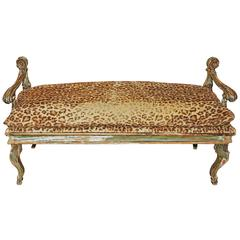 Venetian Painted Bench