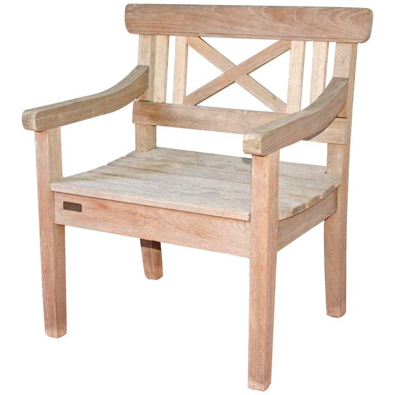 vintage danish teak armchair for sale at 1stdibs