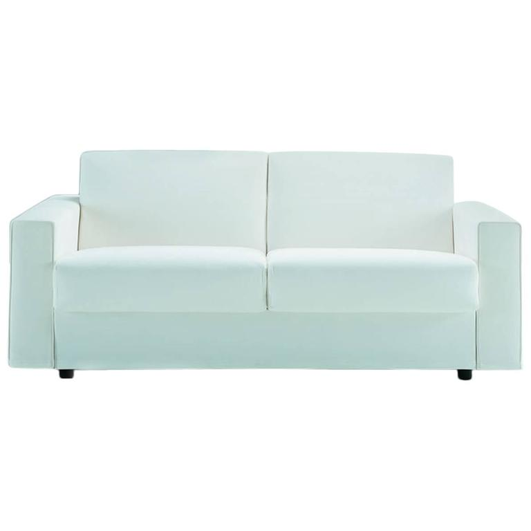 Modern Italian Sofa Bed Sb52 Made In Italy Leather Or Fabric New For Sale At 1stdibs