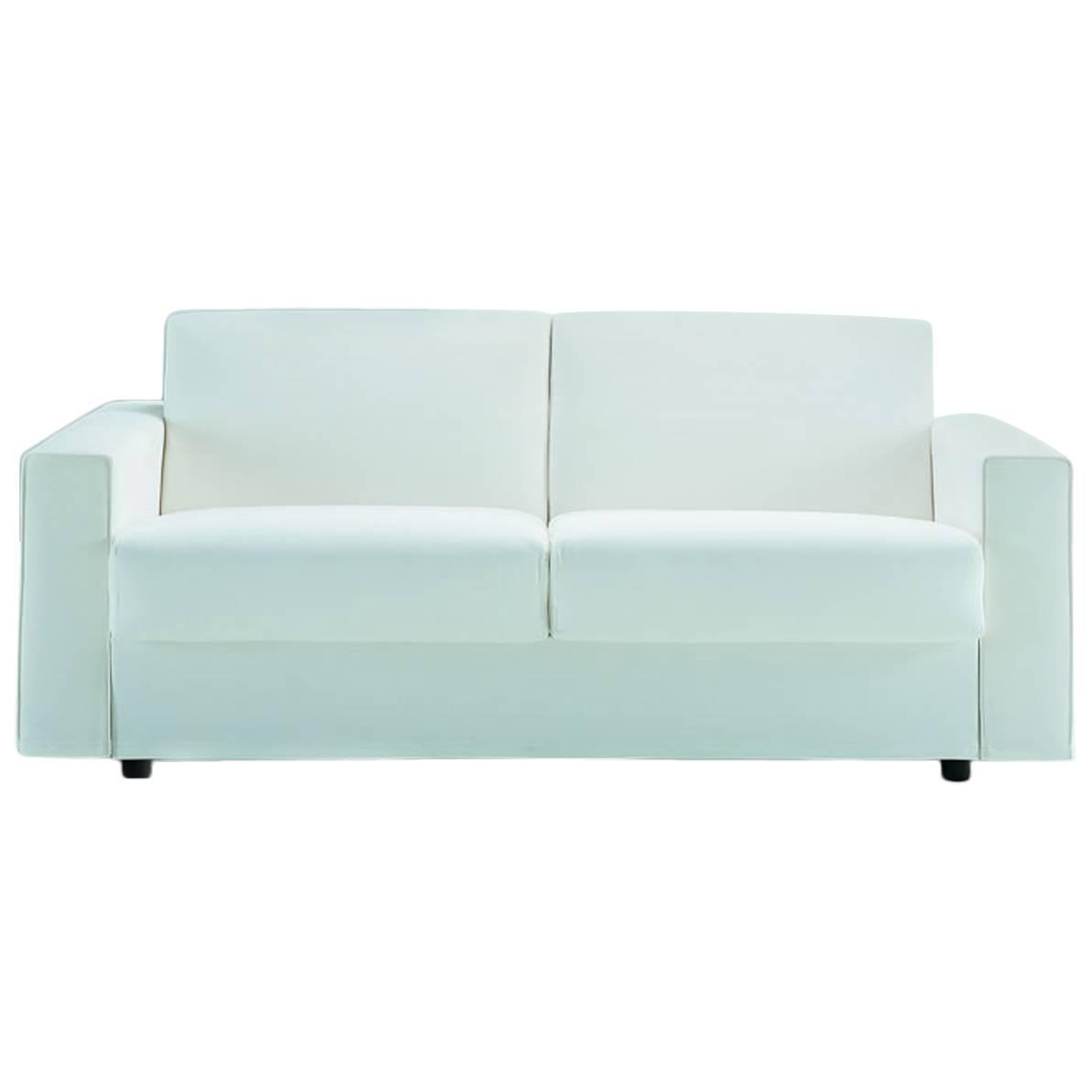 Modern Italian Sofa Bed SB52 Made In Italy Leather Or