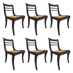 Regency Style Mahogany Dining Chairs