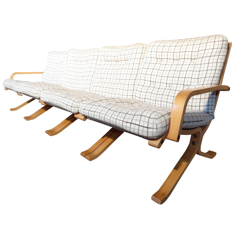 Mid-Century Modern 1960 Retro Danish Ingmar Relling Siesta Sofa or Chairs