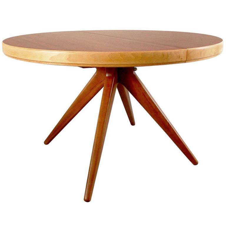 Futura Dining Table by David Rosén for Nordiska Kompaniet, Sweden, 1952